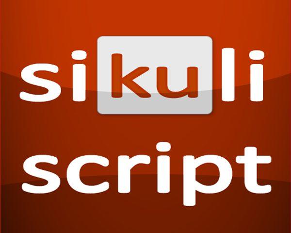 Sikuli – zgrabne narzędzie dla automatyzacji zadań