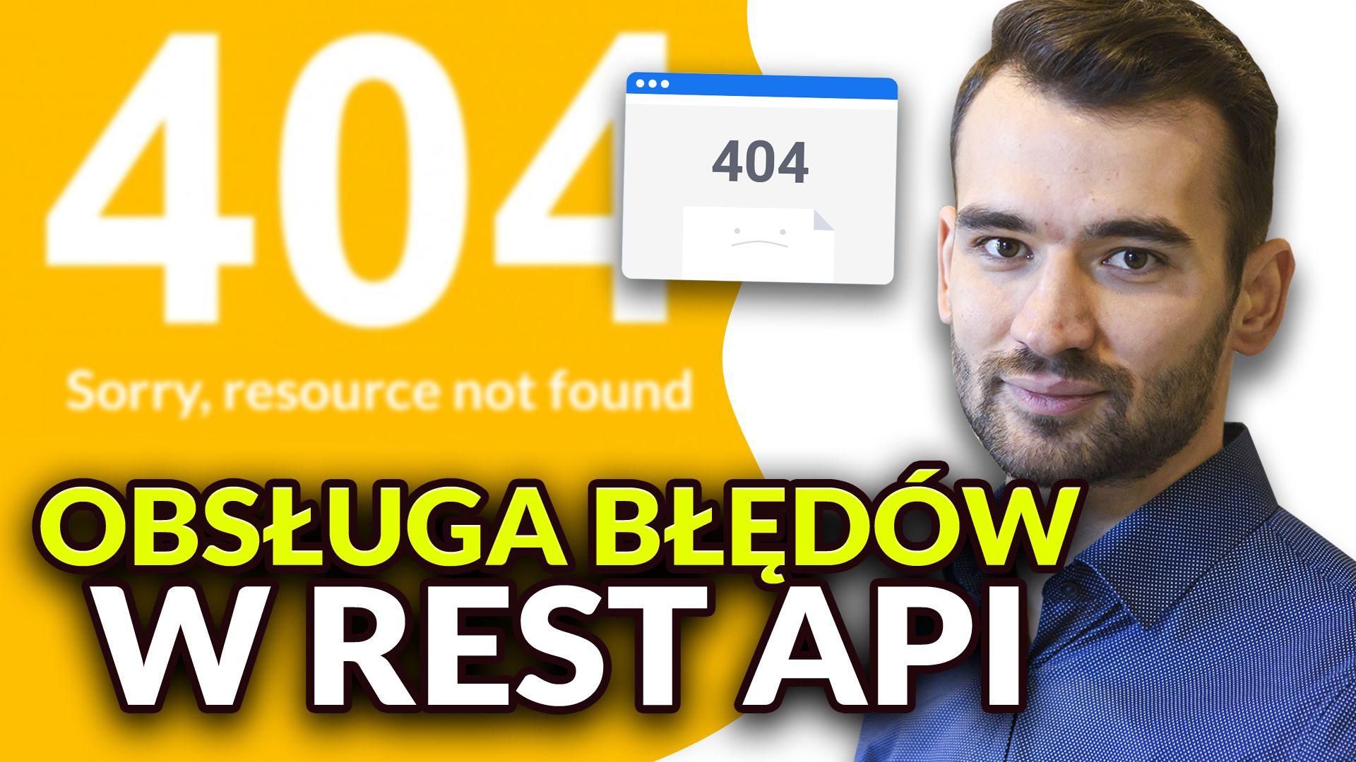 Obsługa wyjątków w REST API